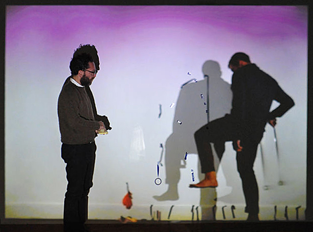 Two Seen, One Un-Seeing (Robert Luzar, Francesco Gagliardi), Performance Still, Photo: Henry Chan