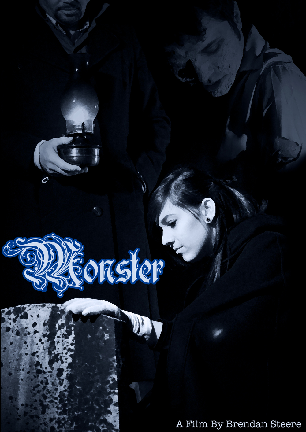 Poster for film  Monster , completed 2011