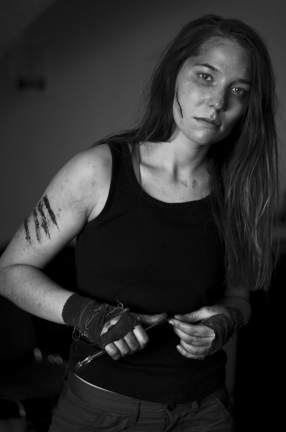 "Actress Alyssa Kempinski as Parker  in ""They Hunger"" Proof of Concept                                                     © 2014 A. Meadows Photography"