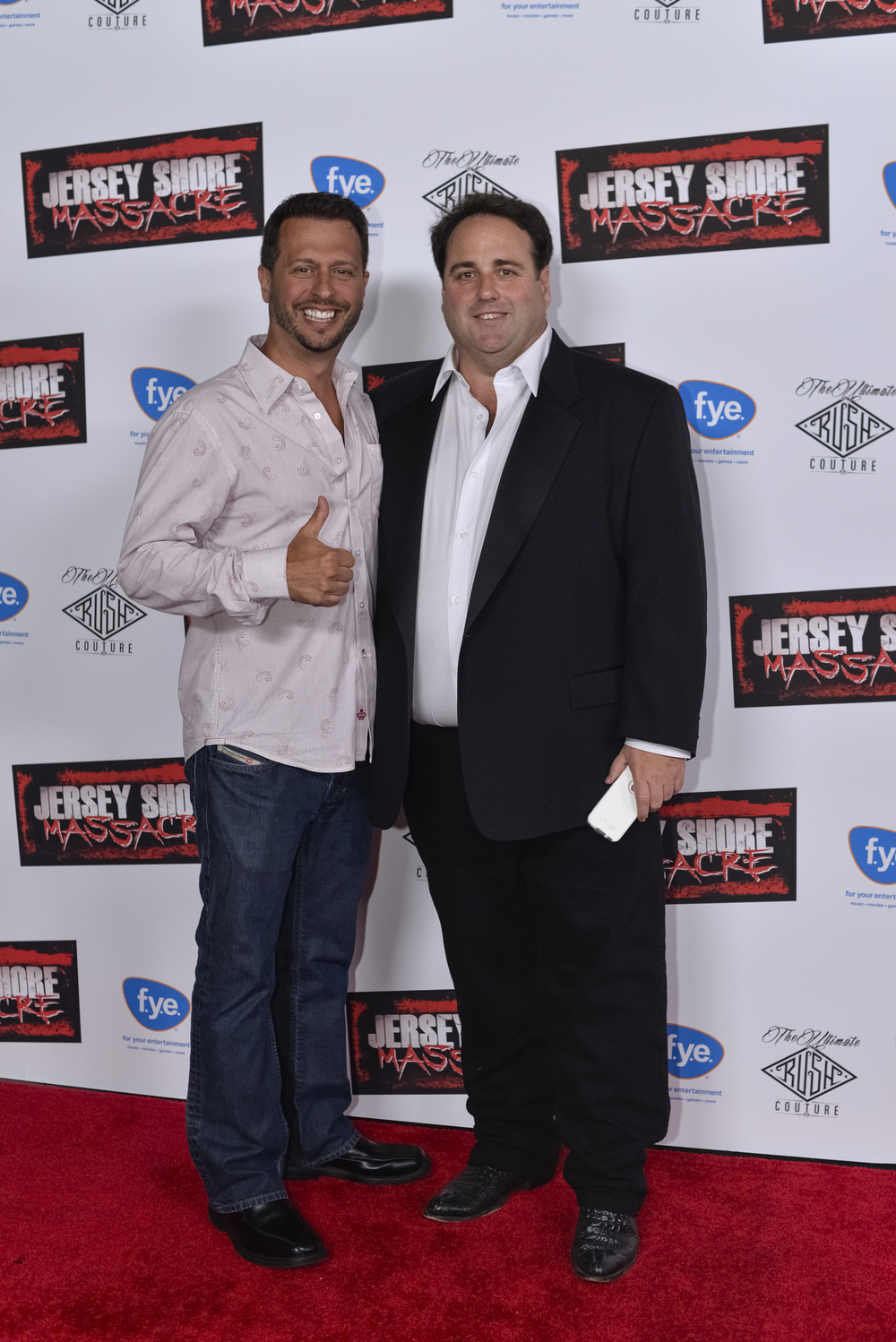 "Sal Governale from ""The Howard Stern Show"" with Director Paul Tarnopol"