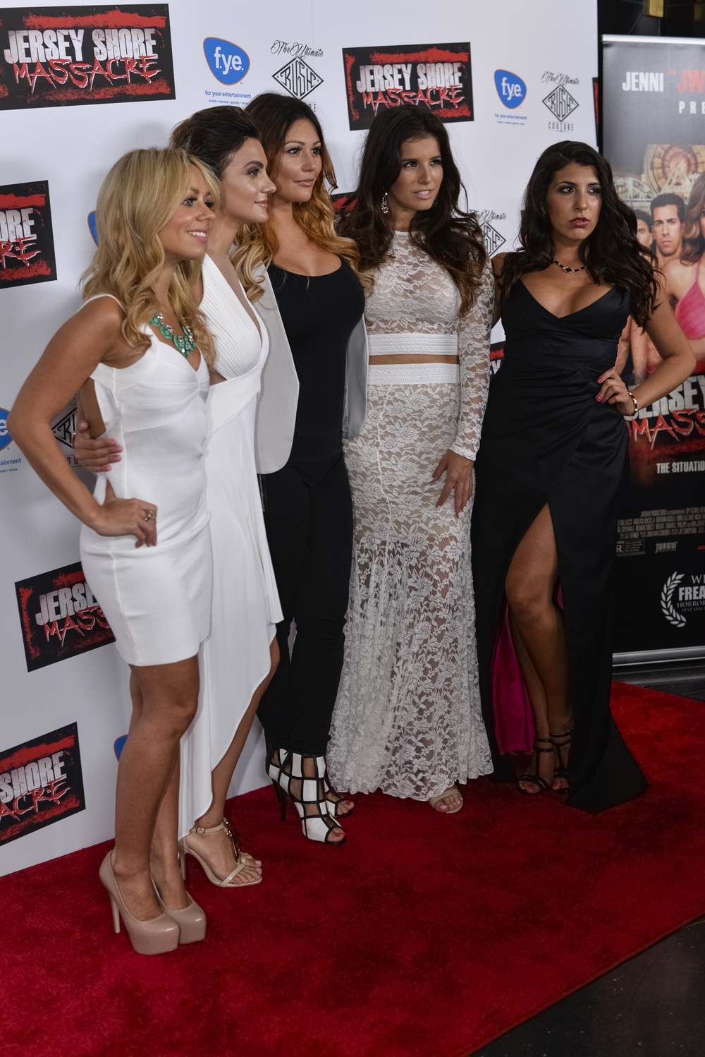 JWoww and the actresses