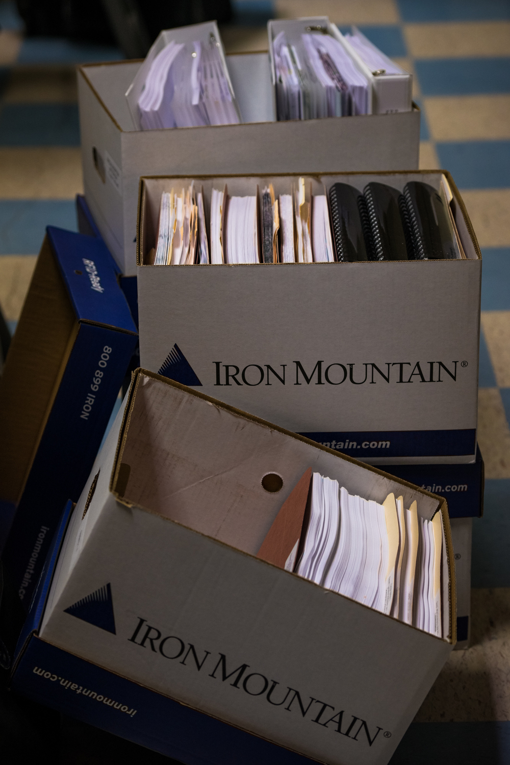 Iron? You Mean Wasteful Paper Mountains