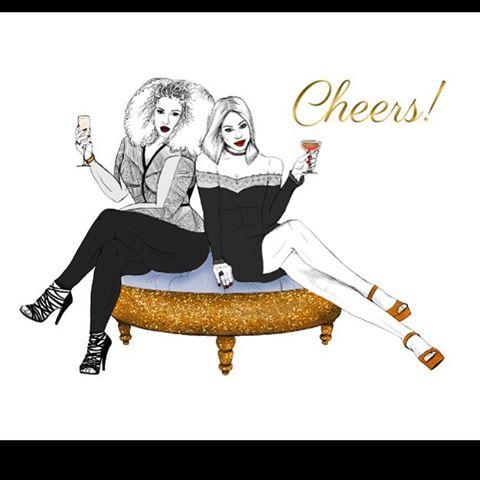 Cheers To A Fashionable New Year! 🍾🍾 🍾 #melangeparfait #stationery #stationeryaddict #greetingcard #greetingcards #cheers #newyear #2017 #me #buyblack #newyeareve #love #melanin #newme #insta #jj #blackowned #blackgirlmagic #blackgirlsrock #fashion #fashionblogger #shopsmall #fashionbombdaily #newyork #nyc #illustration #illustrator #illustratorsofinstagram