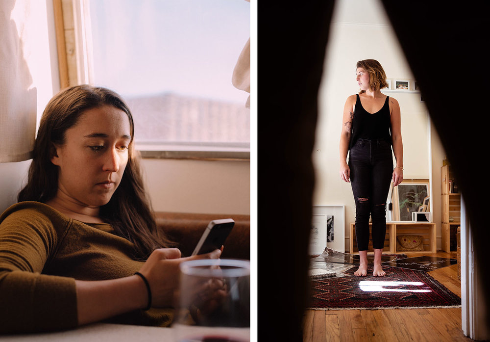 Repurposed places | Taos New Mexico // Katy March 2018 | Denver, Colorado // Chloe October 2018 | Portraits taken in renovated homes.