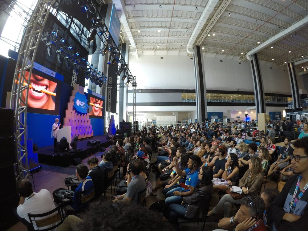 Campus Party Brasilia - Keynote Speaker