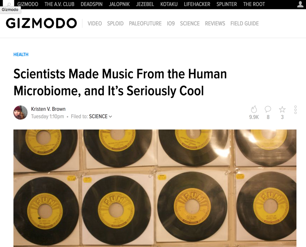 http://gizmodo.com/scientists-made-music-from-the-human-microbiome-and-it-1798537905?utm_campaign=socialflow_gizmodo_twitter&utm_source=gizmodo_twitter&utm_medium=socialflow