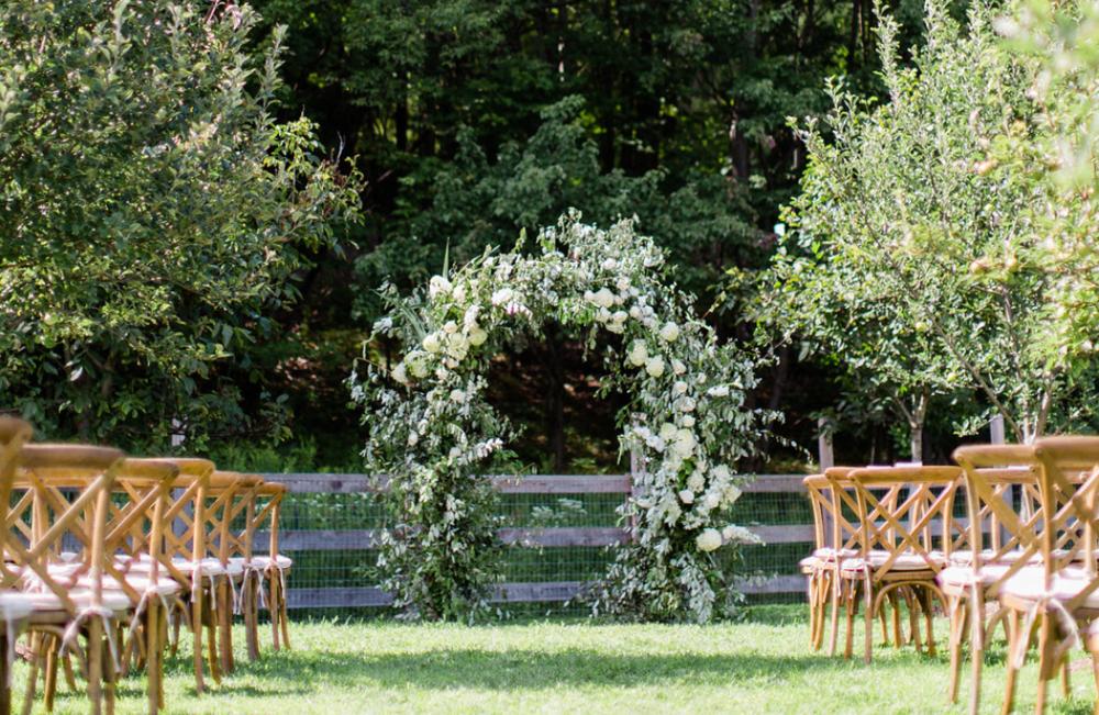 Orchard Wedding  Randolf, New York