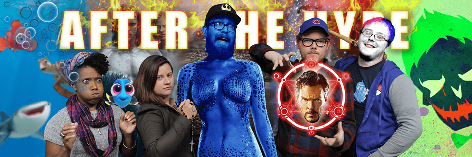 BLOCKBUSTER ROUNDUP!  Finding Dory, The Legend of Tarzan, XMEN Apocalypse, Dr. Strange, Suicide Squad
