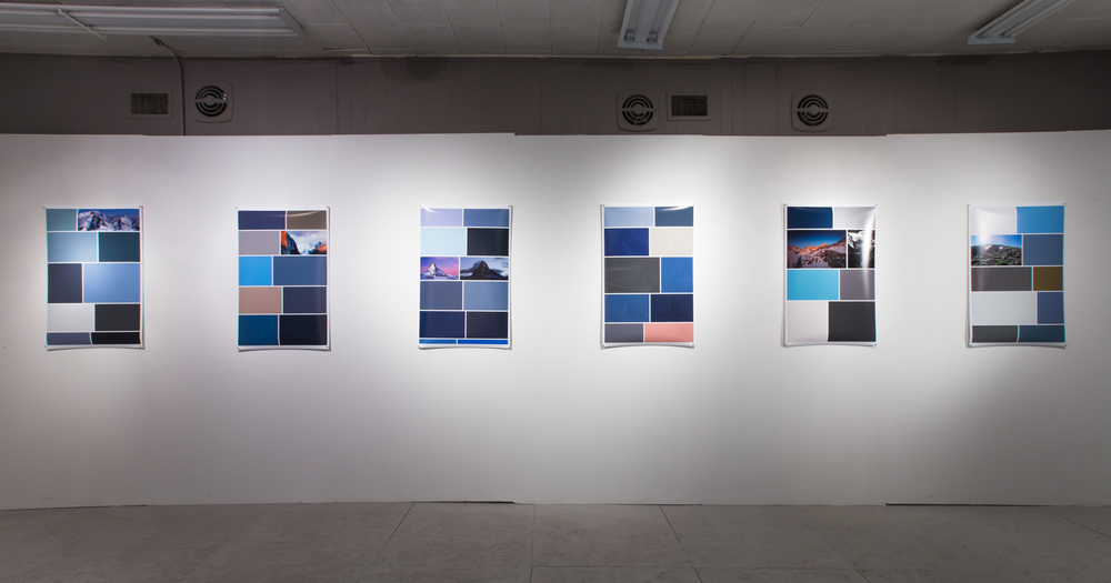 Searching for Mountains - Installation View