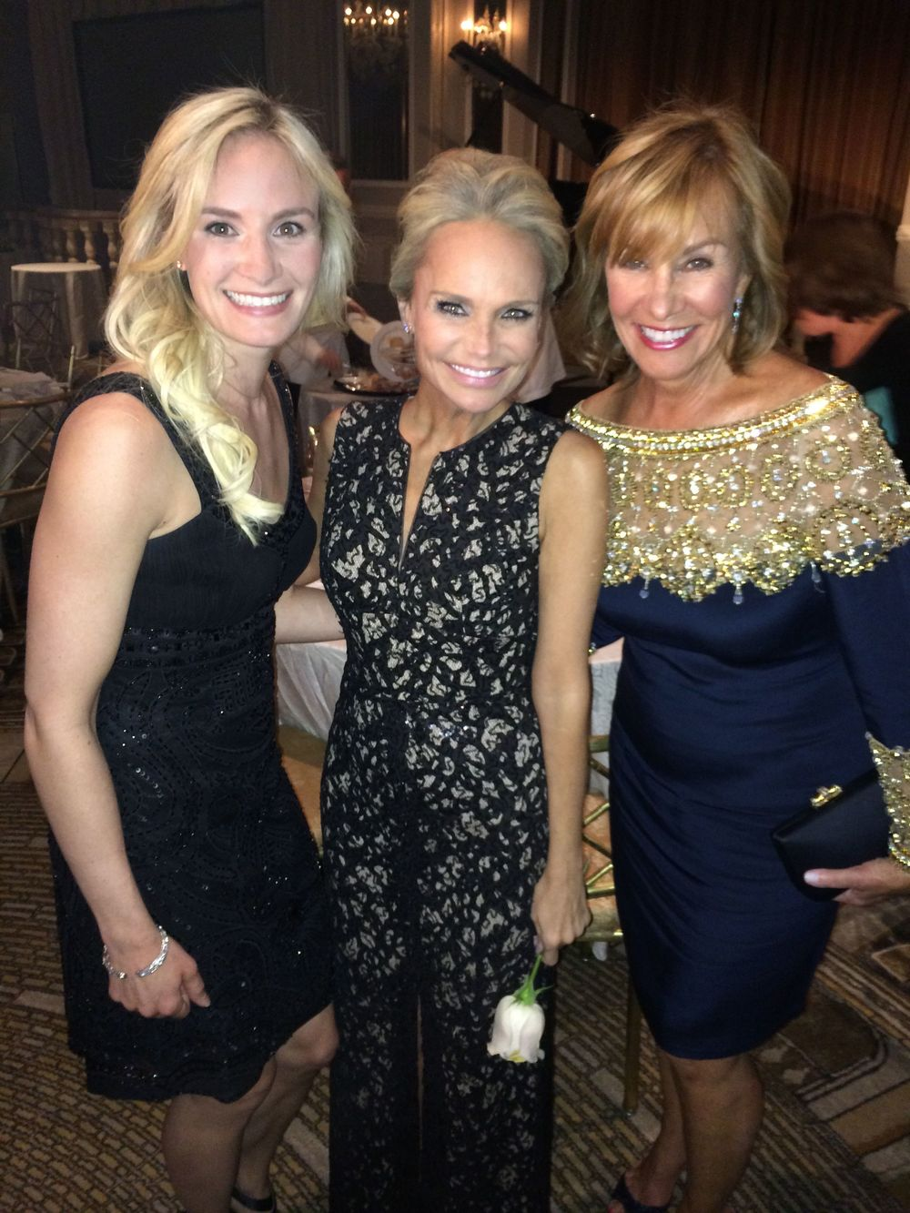 The effervescent Kristin Chenoweth & my mom - who has always supported me in every artistic and creative endeavor in my life, and the reason I became an actor