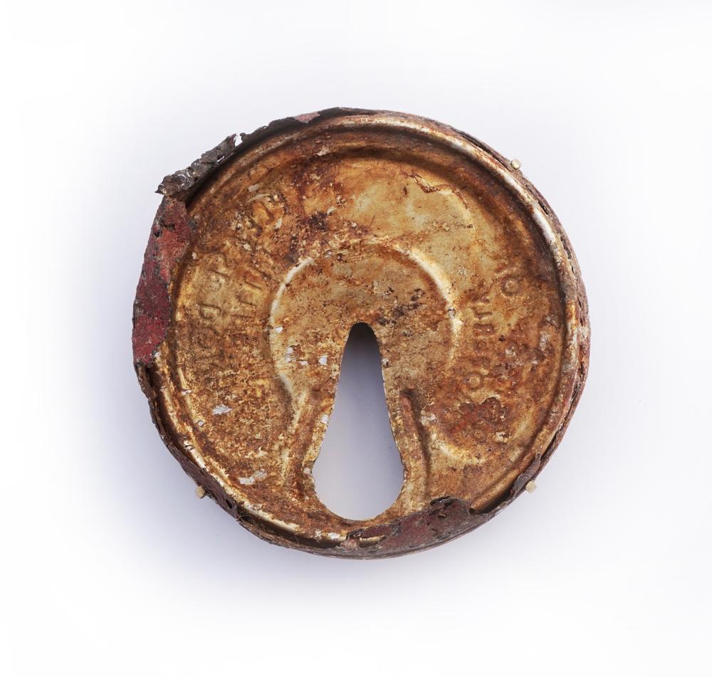 Rust2015 found object, brass