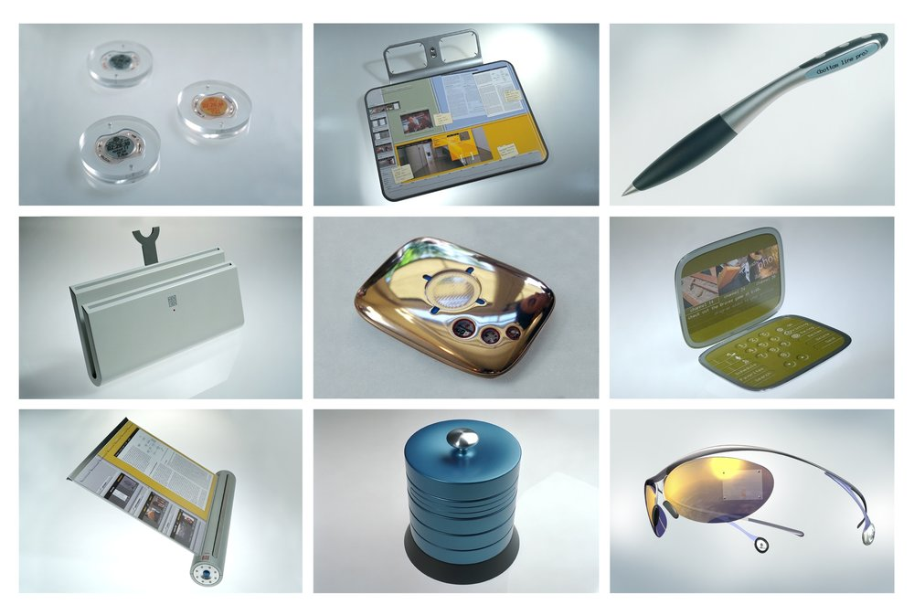 Objects from the 2010 Technology Forecasting Project:  Anticipating the future by understanding timeless human needs.