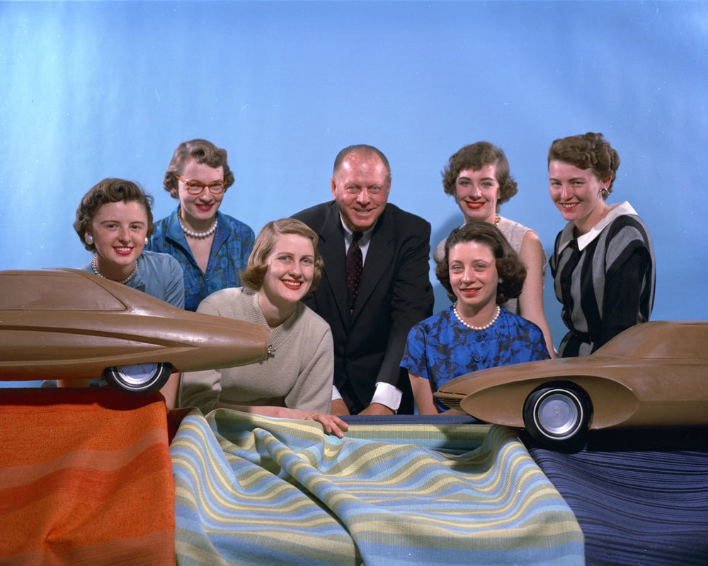 "The ""Damsels of Design"" |  photo: General Motors"