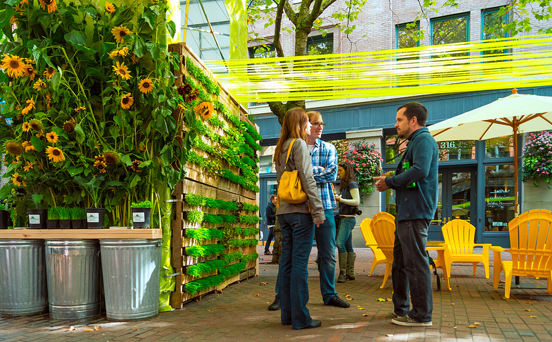 Vertical Garden Design_Seattle Design Festival_Seattle Urban Farm Company
