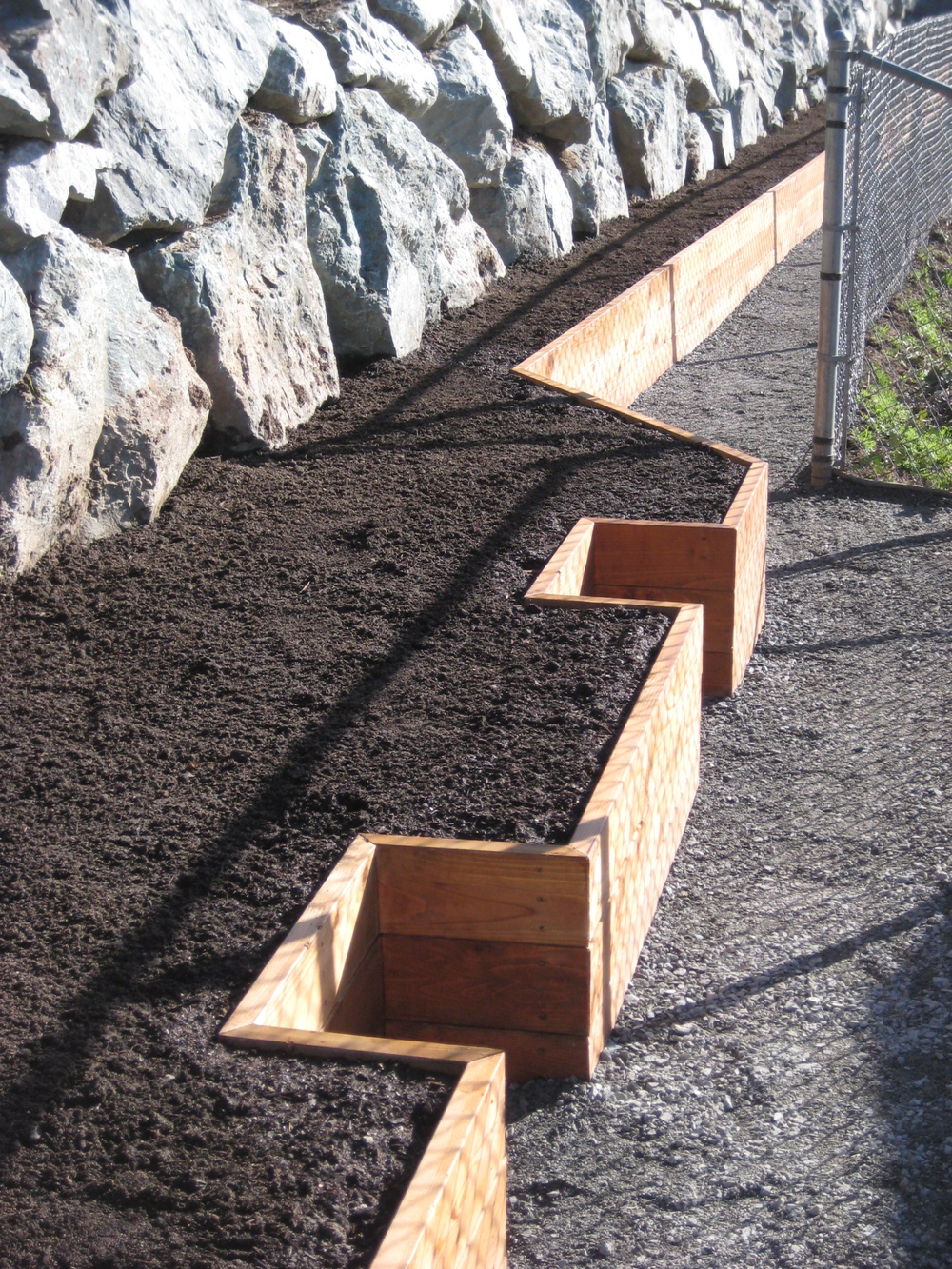 Long Raised Bed Vegetable Garden_Seattle Urban Farm Company