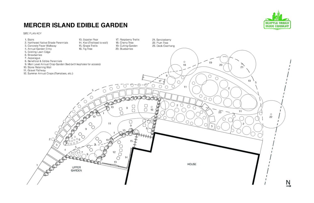 Mercer Island Edible Garden Design_Seattle Urban Farm Company