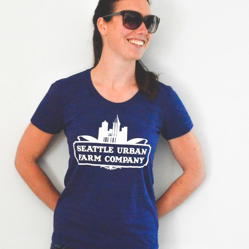 954408d7 Seattle Urban Farm Company T-Shirt - Women's Indigo