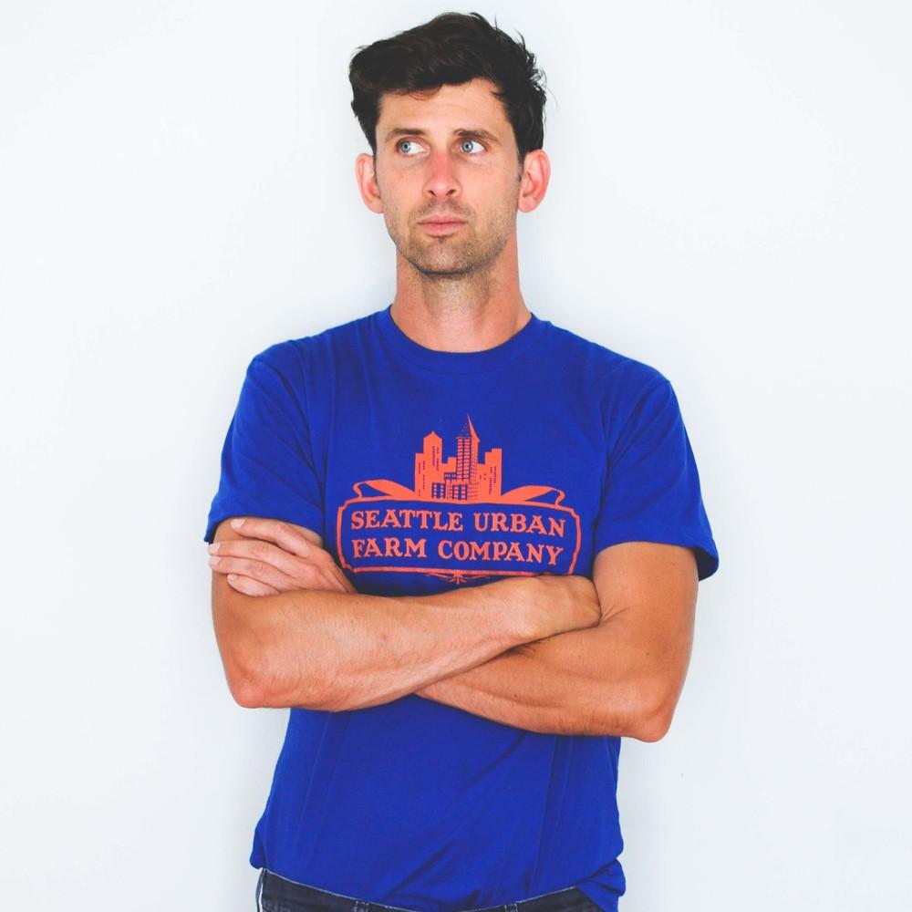 95a6c613 Seattle Urban Farm Company T-Shirt- Men's / Womens Lapis — Seattle Urban  Farm Company