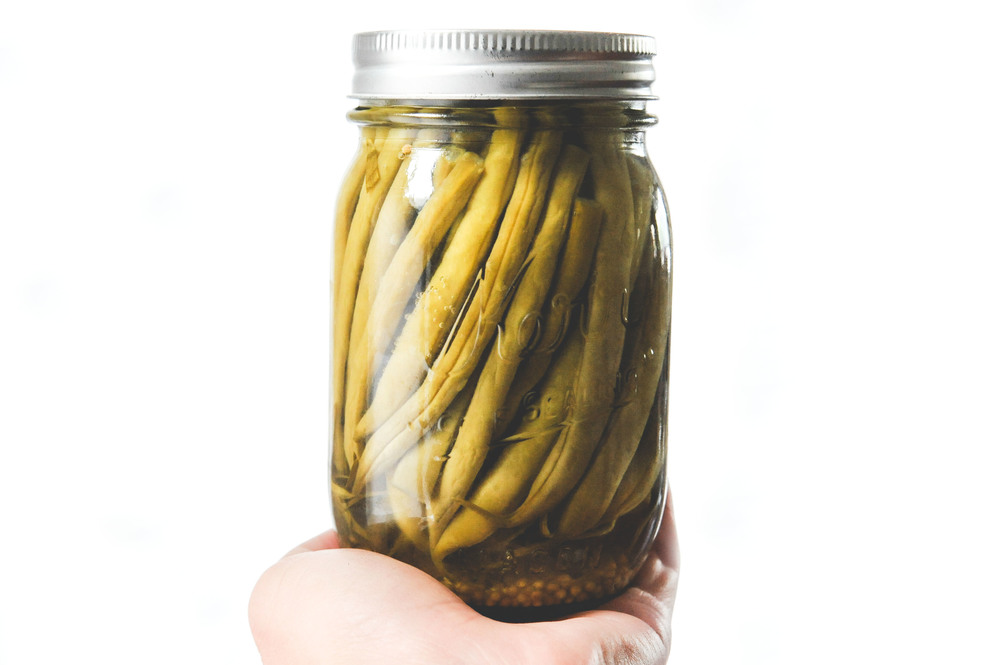 Pickled green beans_Seattle Urban Farm Co