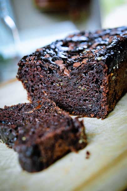 Hilary's Healthy(ish) Chocolate Zucchini Bread