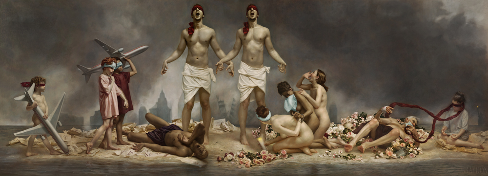 Cycle of Terror and Tragedy, September 11, 2001 by Graydon Parrish