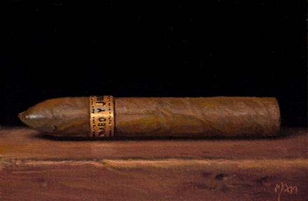 Romeo y Jultill Sieta Cigar, by Abbey Ryan