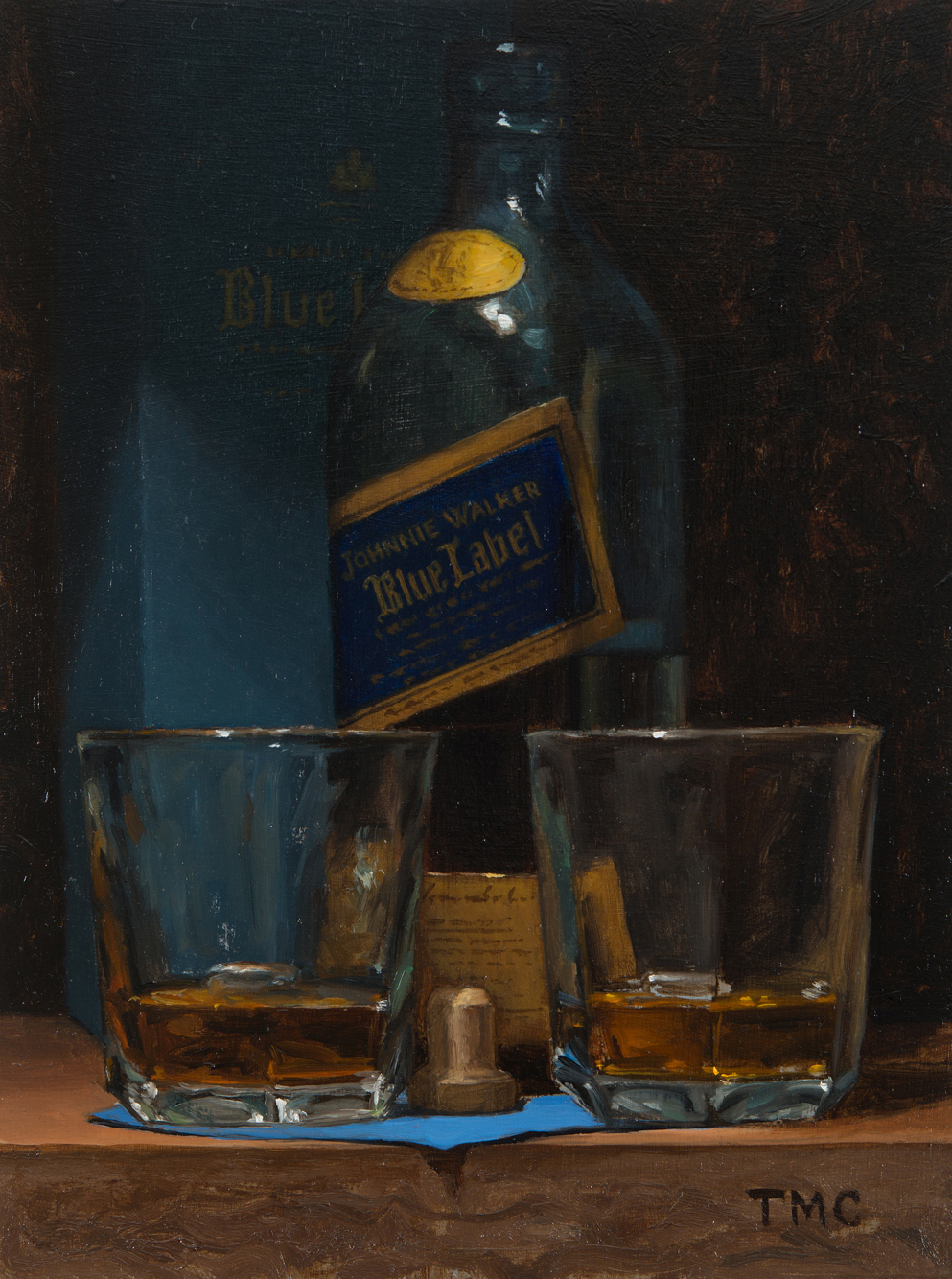 Blue Label by Todd Casey