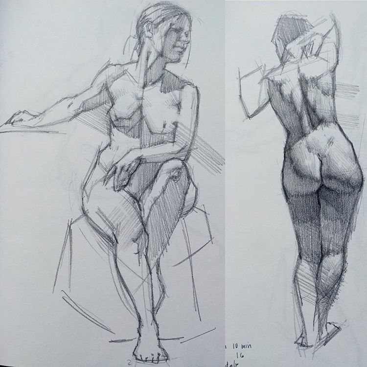 Figure Studies by Kevin Wueste