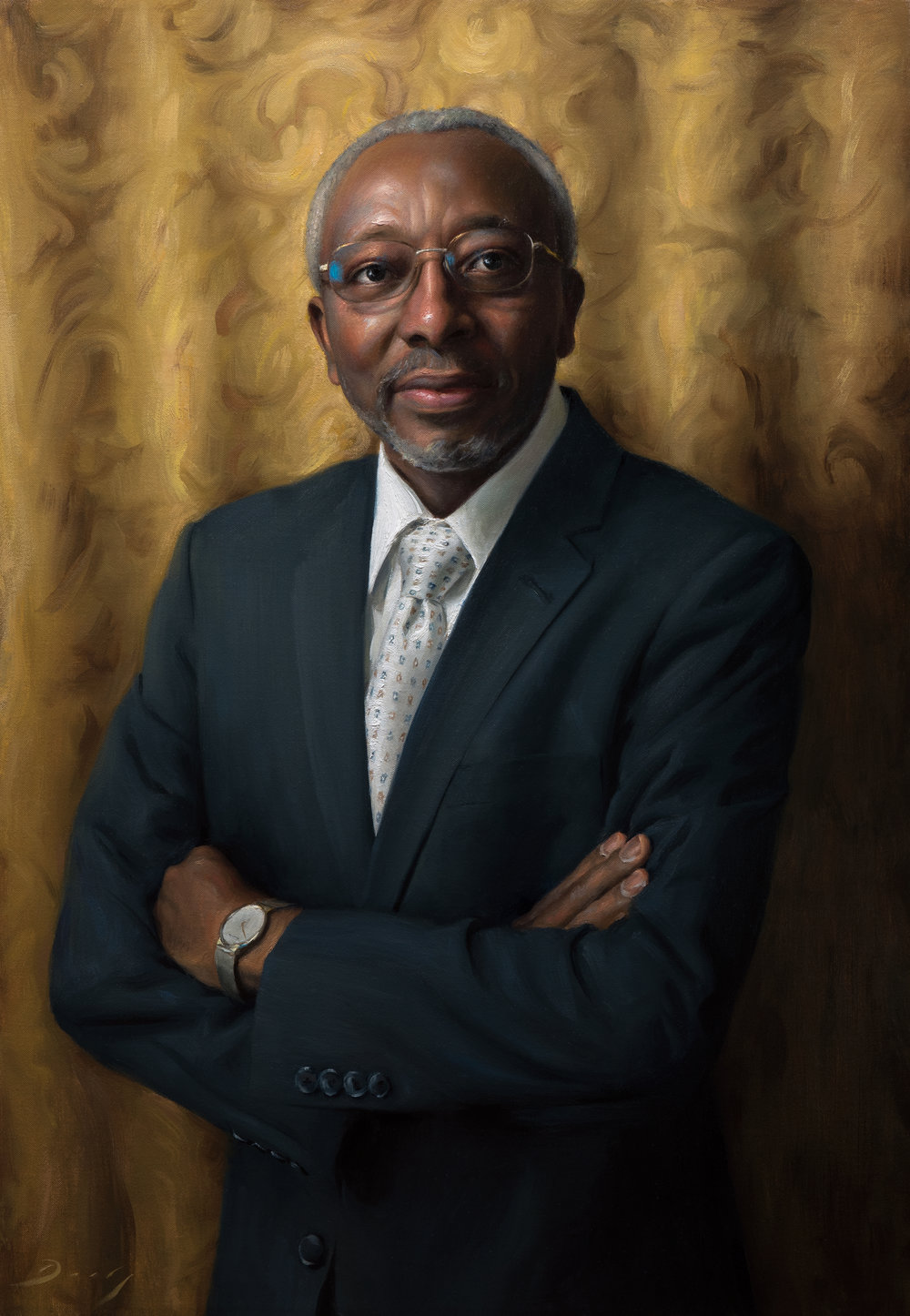 Dr. Lewis, 23x33, by Joseph Daily