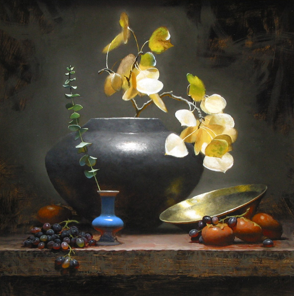 Cycle of Life, 24 x 24, by Jeff Legg