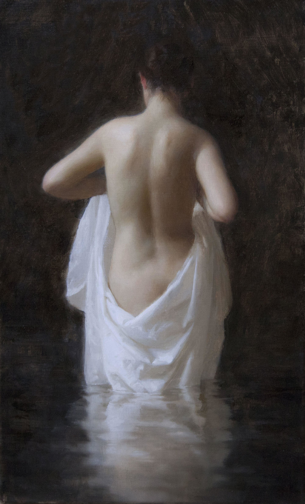 Bather, 16 x 10, by Joshua LaRock