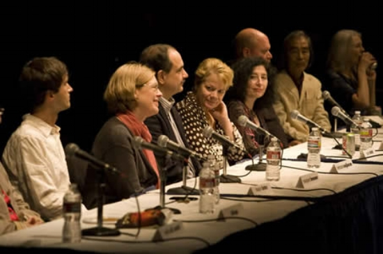 Panel discussion with Mason Bates, Margaret Brouwer, Behzad Ranjbaran, Marin Alsop, Elena Kats-Chernin, Michael Daugherty, Shuko Mizuno and Tina Davidson