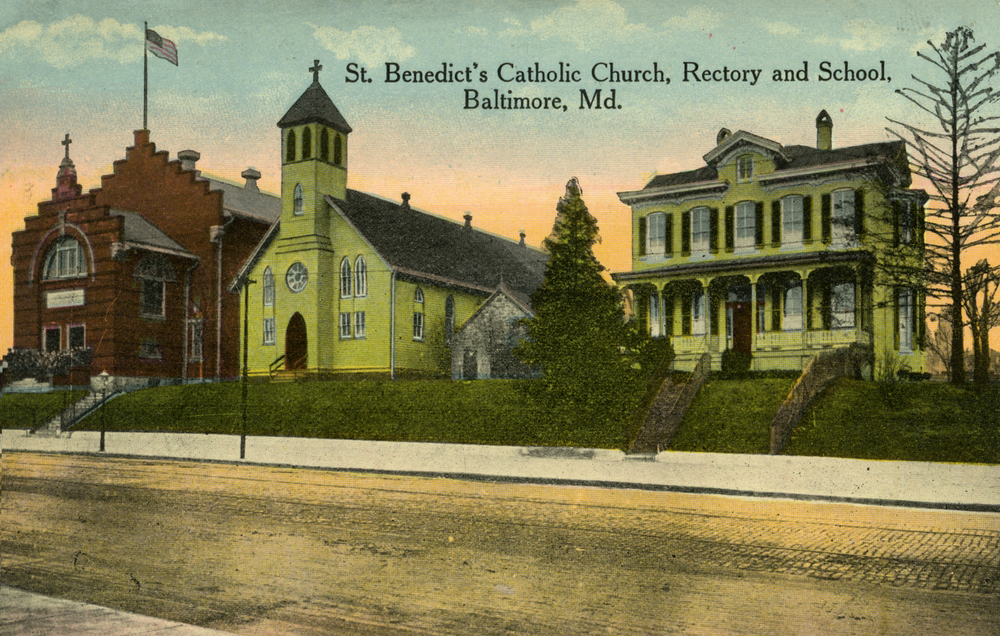Saint Benedict Church, Rectory, and School