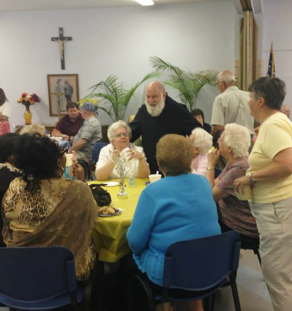 The Parish's Ice Cream Social in honor of Fr. Paschal's 30 Anniversary of Service to Saint Benedict's Church, Baltimore