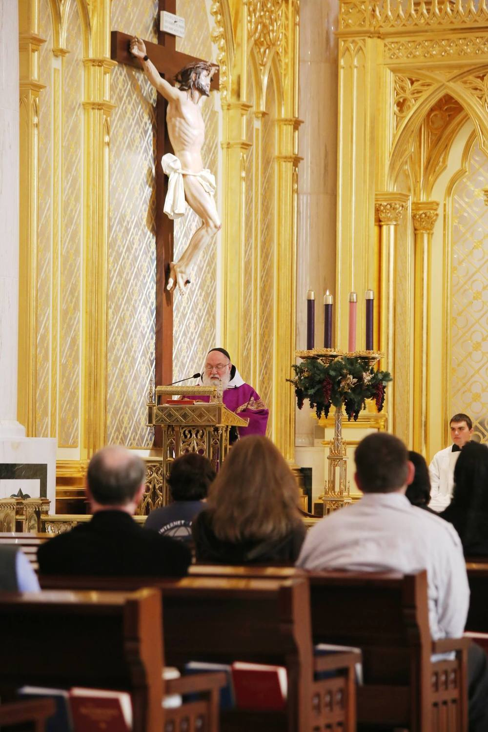 Mass for Advent at EWTN