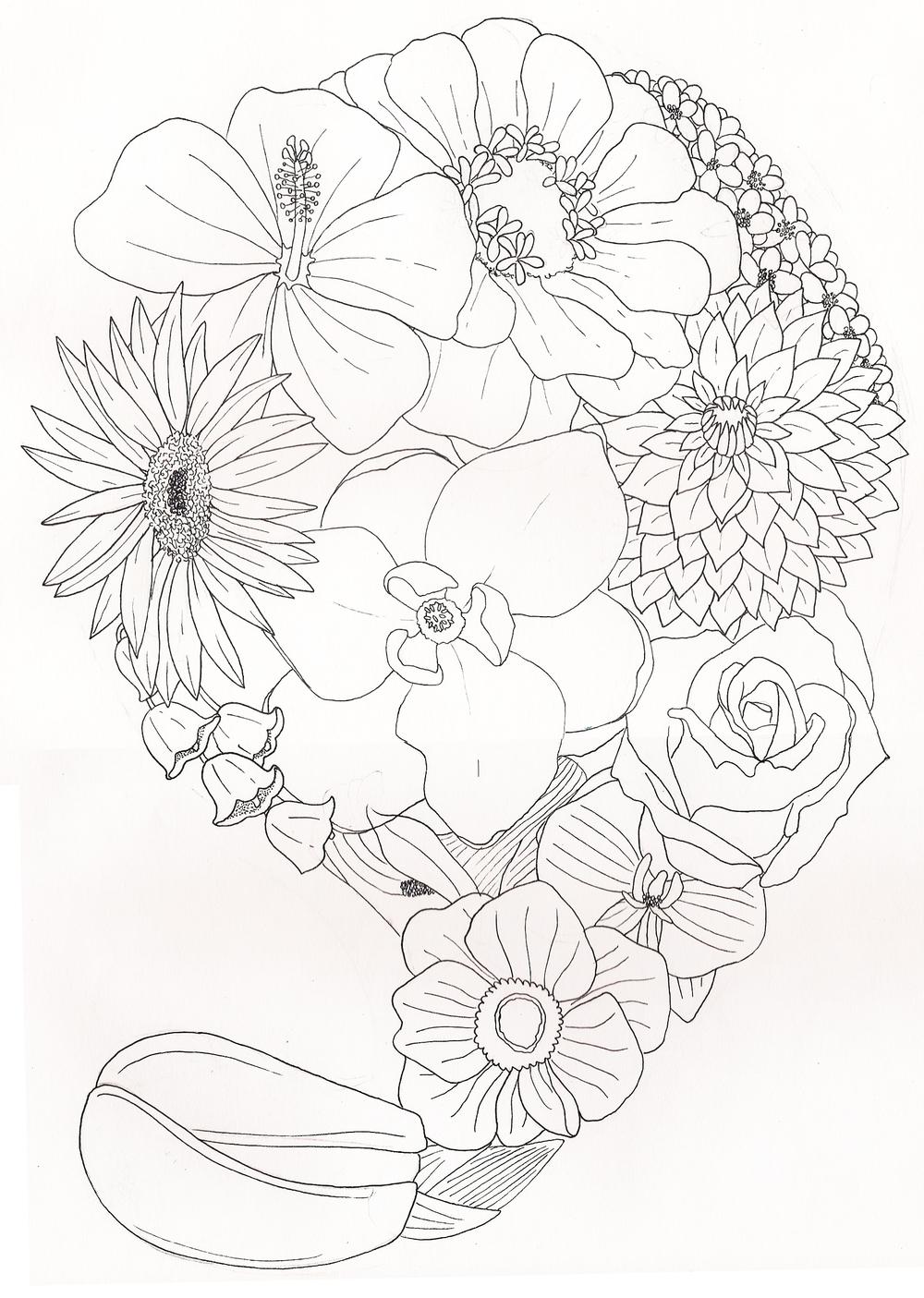 flower paisley.