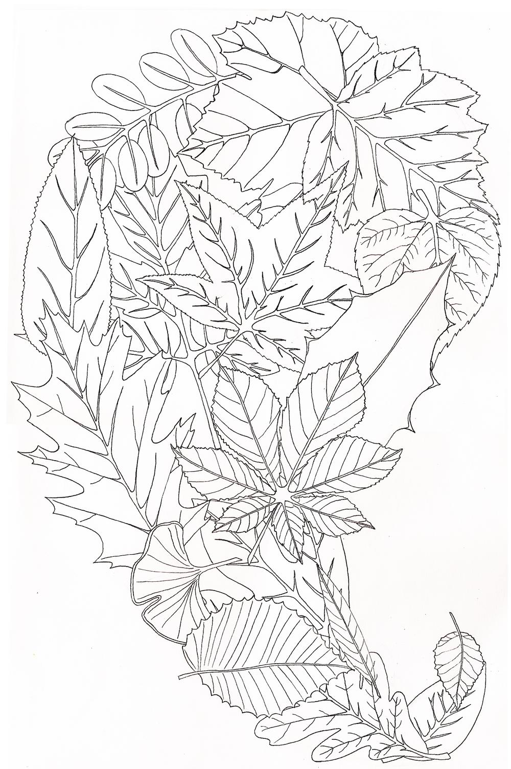 leaf paisley.
