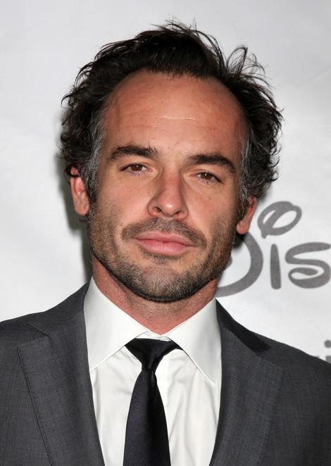 The 49-year old son of father (?) and mother(?), 192 cm tall Paul Blackthorne in 2018 photo
