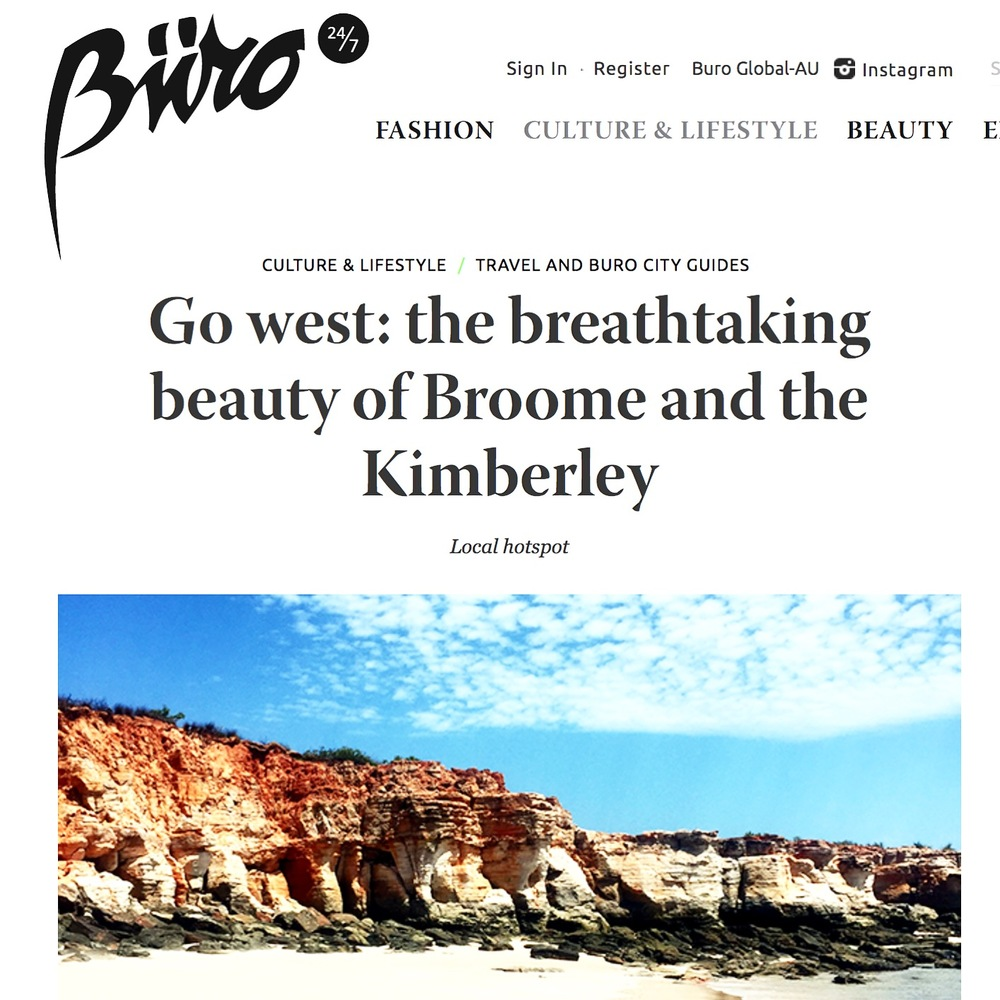 buro247 |  broome + the kimberley  | november 2015.