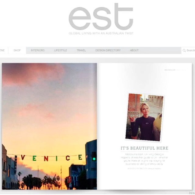est magazine | la city guide | november 2015.