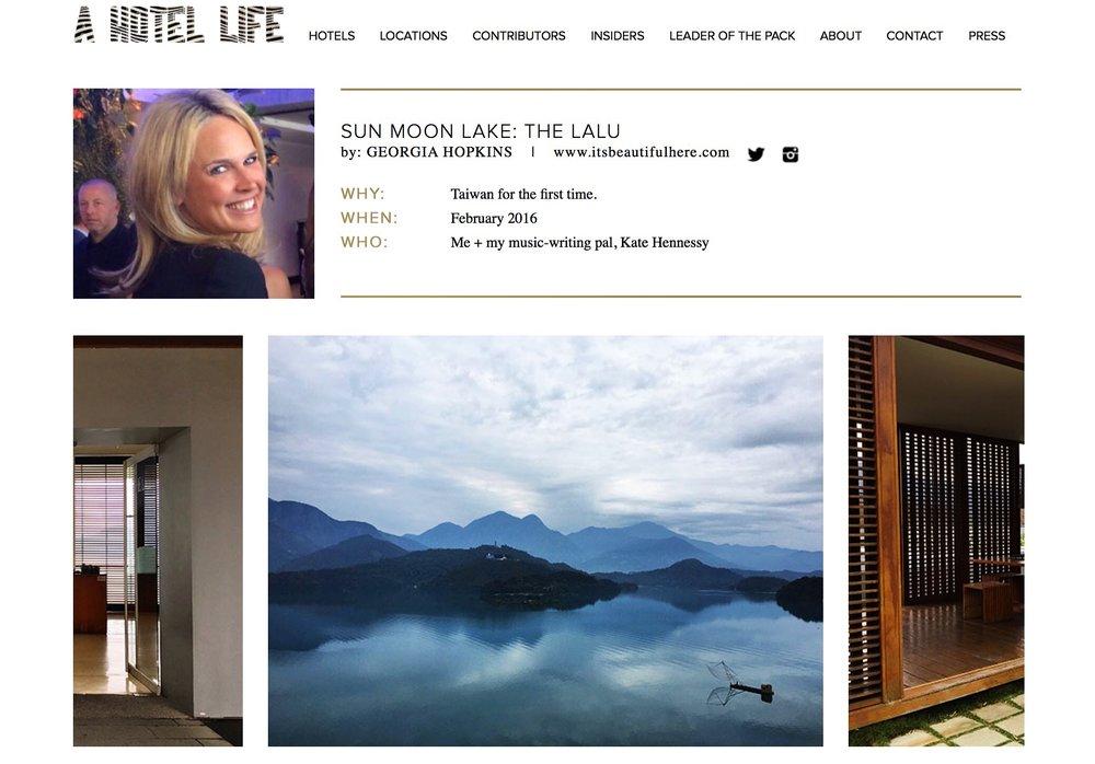 a hotel life |  the lalu  | february 2016.
