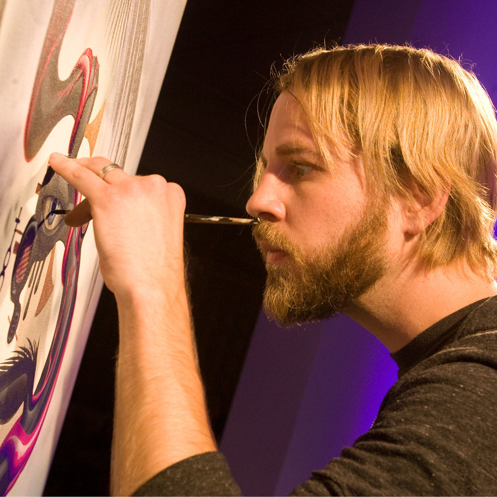 Groupon Live Art Event