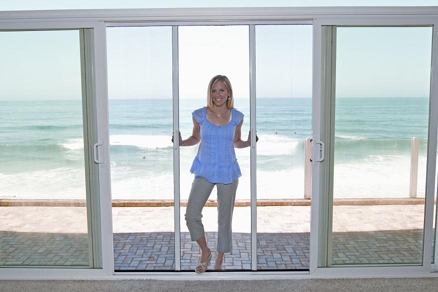 Patio Screen Door Patio Door With Lady Screen Brint