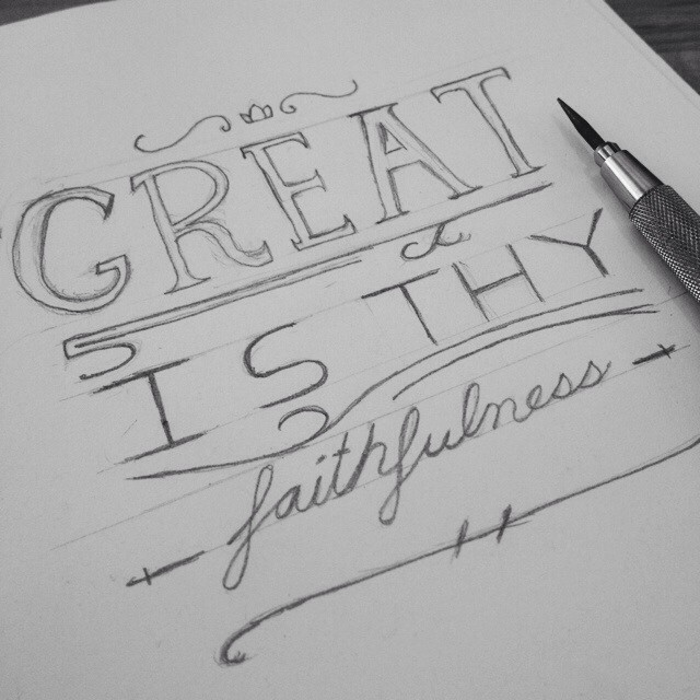 Tuesday sketches. #vscocam #lettering #handdrawn #type #blessed #staedtler  (at HE>i)