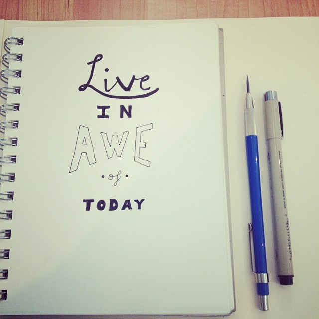 #handlettering #newyear #type #lettering  (at all over the map)