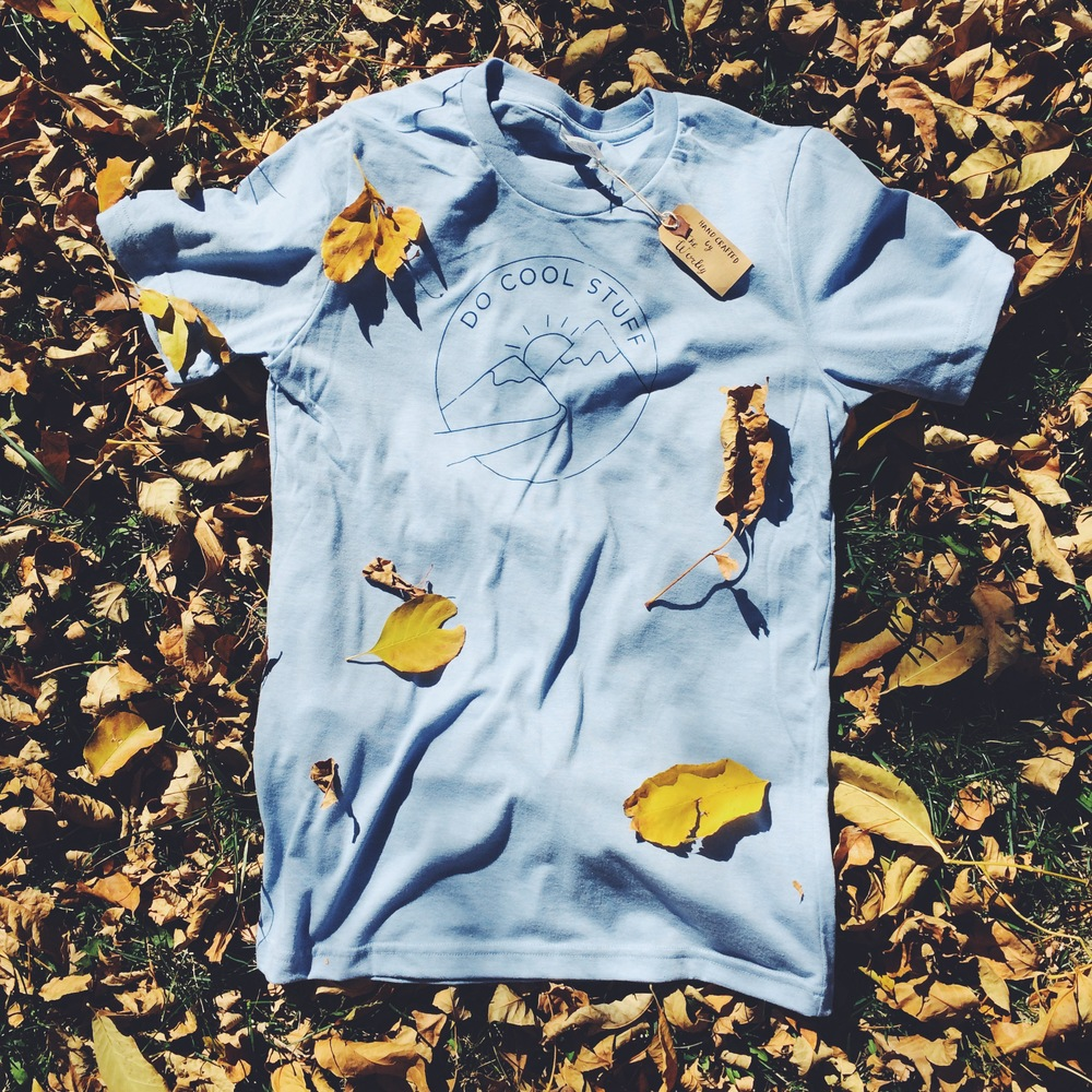 The Do Cool Stuff shirt is living it up this fall.