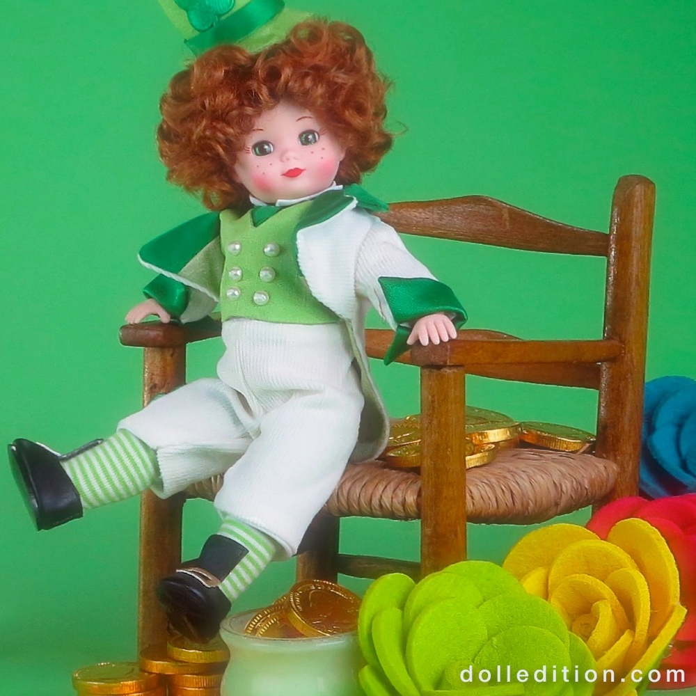 "MADAME ALEXANDER _2014 No. 66245 ""Lucky Enough to be Irish"""