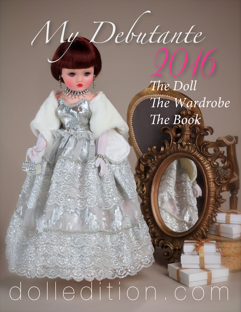 And here we go - off, off and away to the beginning of a new  My Debutante  for 2016. First things first... celebrating the New Year with  dolledition.com !