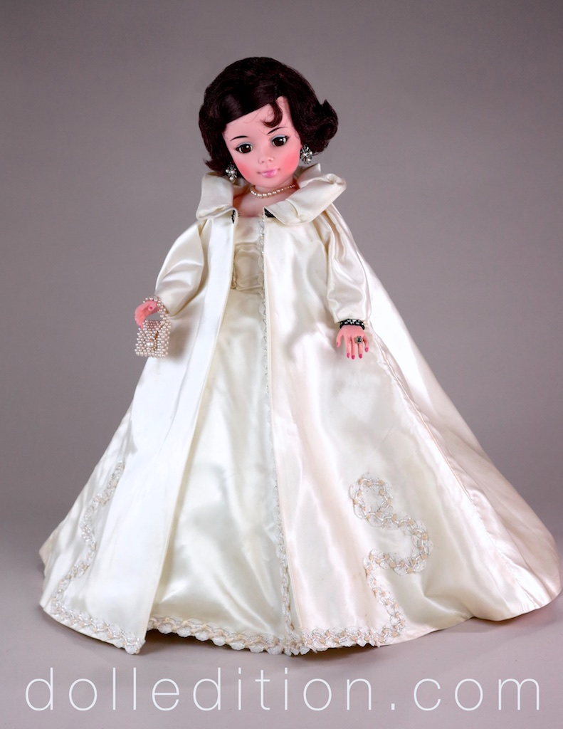 With all the planning and product development that went into Jacqueline, while a stunning doll, she did not go over well at the time as a 1961/1962 fashion doll.