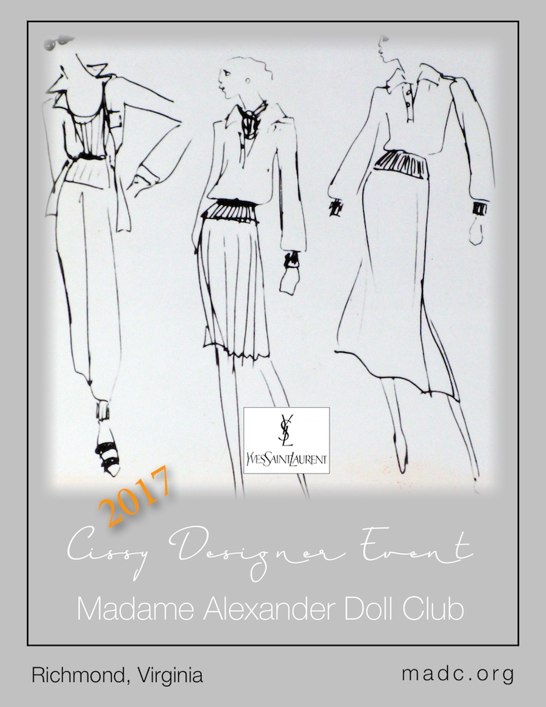 2017 Madame Alexander Doll Club Cissy Designer Event
